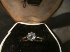 Antique Quality 18ct Gold & 0.72ct Diamond Solitaire Ring, Chester1907,CERTIFIED