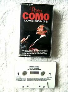 41301 Perry Como Love Songs Cassette Album