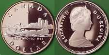 1984 Canada Silver Toronto's Sesquicentennial Dollar Graded as Proof