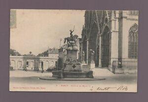 NANCY - Statue de René II    (C8136)