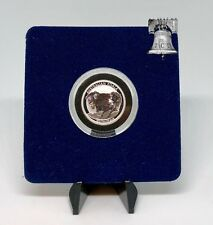 Air-tite Coin Holder Blue Velvet Display Card Model A Capsule Case + Prop Stand