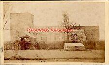 Albumen CDV Garton Church E Yorks Burial Place of Grimston & Gower Family 1860s