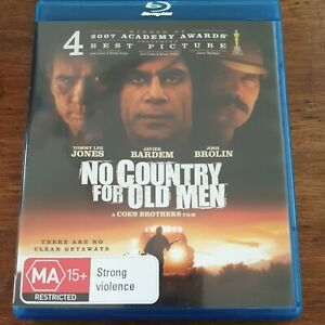 No Country for Old Men  Bluray LIKE NEW! FREE POST