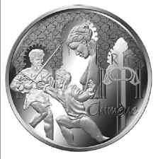FRANCE 10 Euro Argent BE 2015 Littérature Chimène - Silver coin