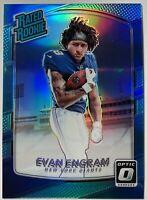 2017 Donruss Optic Evan Engram Rated Rookie Blue Prizm #'d/299 Football 💎 Mint