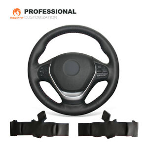 DIY Genuine Leather Steering Wheel Cover for BMW 3 Series F30 F31 F34 2 Series