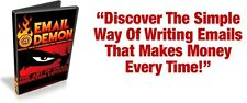 Discover The Simple Way Of Writing Emails That Makes Money Every Time Online (CD