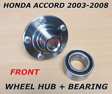 FOR HONDA ACCORD TOURER FRONT WHEEL BEARING KIT HUB FLANGE 03-08 44600-SDA-A10