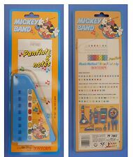 PANFLUTE vintage, Disney Bontempi, Mickey Mouse Band, Topolino, flauto