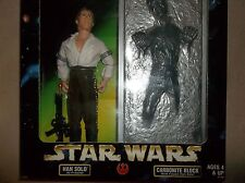 Star Wars Han Solo As Prisoner Carbonite Block Action Collection Kenner 1998 New