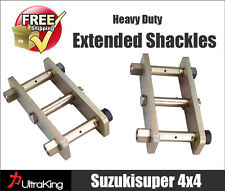 Extended Shackles Nissan Navara D22 Greasable Rear 50mm Raised