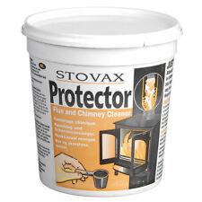 Stovax Protector, Stove Flue & Chimney Cleaner  Woodburner flue cleaner 1Kg Tub