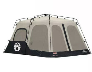 Coleman 8 Person 14 x 10ft Instant Tent, Black, Brand New In Original Packaging