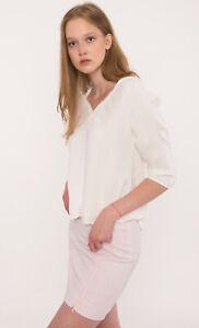 MASSIMO DUTTI Women's Blouse Size S 100% Silk