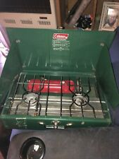 Coleman 413G Camp Stove Used, in Great Shape! Easy To Carry W A Nice Handle