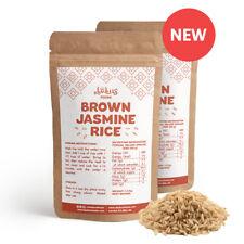 Bulk: 2 x 1.3 kg Brown Jasmine Rice