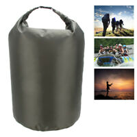 70L Army Green Waterproof Dry Bag Storage Water Resistant  for Outdoor Kayak