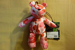 "BAPE by A Bathing Ape ABC Camo Bear Eco Bag ""Pink Camouflage"" Packable Tote Bag"