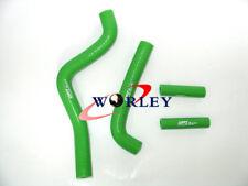 For Kawasaki KX125 KX 125 1999 2000 2001 2002 99-02 silicone radiator hose GREEN