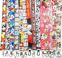 lot Cartoon Flash Neck Straps Key Chains Lanyard ID Holder a62