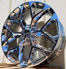 "22"" GMC Sierra Chrome Yukon Denali Wheels Rims CK156 2014 2015 2016 2017 2018"