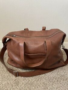 Cole Haan Leather Duffle Bag Brown