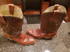 Acme Dingo Vintage Men's Leather Cowboy Boots Size 9D 5905