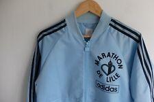 Adidas Originals blue bomber jacket | S | Lille marathon | Pale blue Trefoil