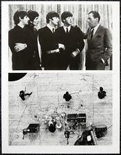 THE BEATLES POSTER PAGE . 1964 ED SULLIVAN SHOW / 1964 PARIS . Q8