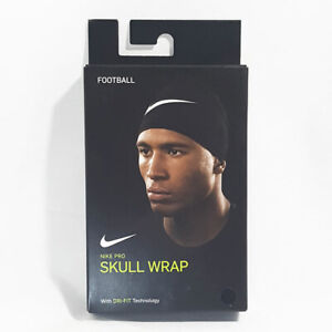NIKE PRO | SKULL WRAP with Dri-FIT Technology | Black/Silver | Brand New