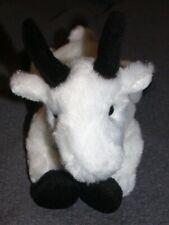 """AURORA Beanie Plush Stuffed Rocky Mountain Goat White Toy 2015 8"""""""
