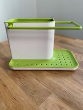 Joseph Joseph Surface Sink Tiny Caddy, Regular - Green And White