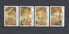 China Taiwan 1984 Sc#2427-30 Paintings 18 Scholars,Sung Dynasty. Mnh. O.Gum.