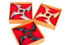 Cosplay Anime Naruto kunai ninja Sasuke Uchiha Rotatable Fuhma Shuriken Weapon