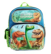 "Disney Pixar the Good Dinosaur Boys & Girls 12"" inches Canvas Green Backpack"