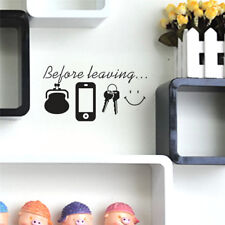 DIY Domestic Decors Wall Stickers Family Letter Removable Vinyl Decal Art Mural