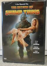The Return of Swamp Thing (DVD 2003) RARE 1989 HORROR HEATHER LOCKLEAR BRAND NEW
