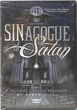 NEW SINAGOGUE OF SATAN DVD A REVIVAL CLASSIC MESSAGE BY STEVE HILL MINISTRIES