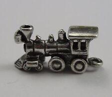 Train Charm, Sterling Silver, .925, Pendant, #C127