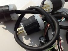 Twist Lock Plug Male 4 prong L14-20 w/ Cord 125/250 volt 20 amp.