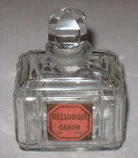 "Vintage Caron Bellodgia Perfume Bottle - Baccarat Numbered - 1.866 OZ - 3"" Ht."