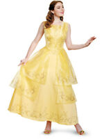 Adult's Womens Prestige Beauty And The Beast Belle Gown Costume