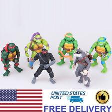 Teenage Mutant Ninja Turtles Anime TMNT Action Figures Doll Kids Toys 6 PCS