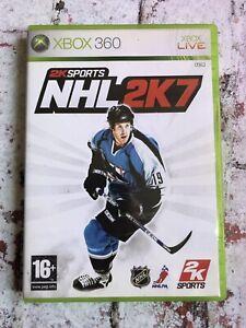 NHL Hockey 2K7 Microsoft Xbox 360 Game With Manual