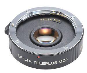 Kenko MC4 DGX 1,4x Konverter für Nikon Digital Neuware Telekonverter