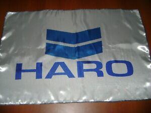 Haro 20x30 Flag Banner Show Garage Vintage BMX Flag Haro Expert Bicycle White