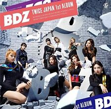 TWICE BDZ First Limited Edition CD Booklet Card Japan WPCL-12914 4943674285013