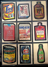 1973 Topps Wacky Packages Original 1st Series Complete Set VERY NICE + PUZZLE !