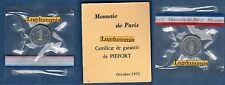 Piéfort - 1 Centime Epi 1975 RARE 150 Exemplaires FDC PIEFORT