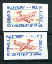 Scarce MNH Canada Semi Official Airmail BACKWARDS PLANE VARIETY! (Lot #RN172)